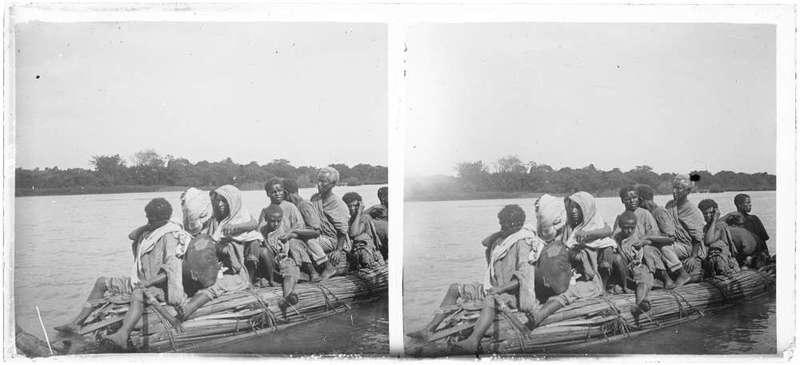 Pirogue, fleuve (Éthiopie)