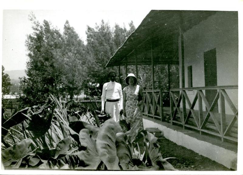 La mission en Abyssinie. Addis Abbeba