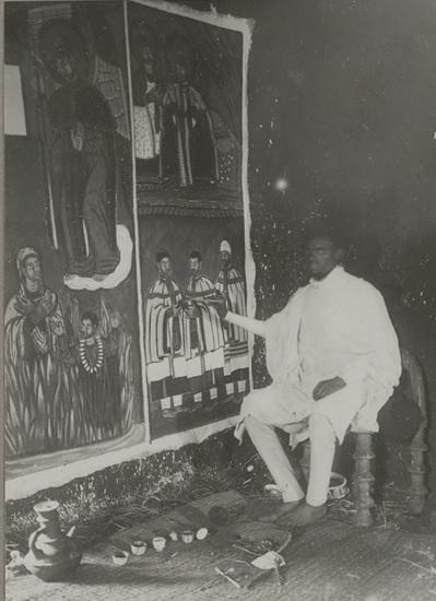 Peintre éthiopien