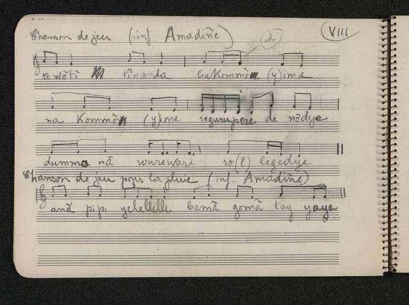 Carnet de notation de musique [Num]