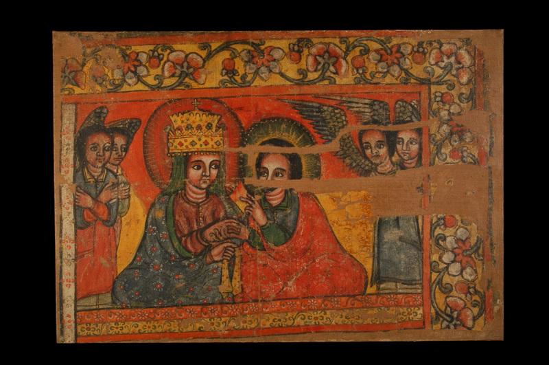 Fresque de l'église de Qaha Iyasus - Pacte de Grâce