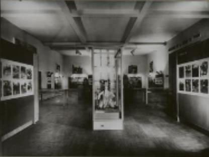 Section ethnographique Fali dans l'exposition sur les collections du Tchad