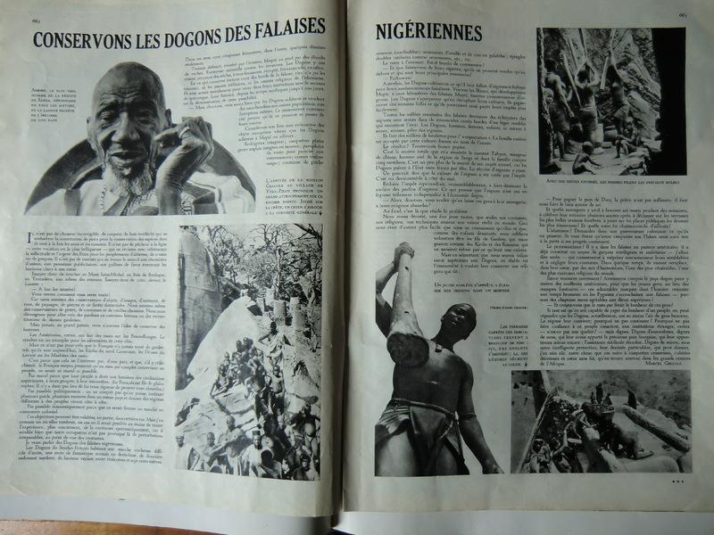 Marcel Griaule, Conservons les Dogons des falaises nigériennes