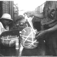 Tumba Kunda - Arrimage des poteries avec de l'albuplats