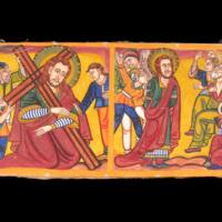 Peinture - Jugement et chute de Jésus Christ
