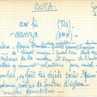 Fiche botanique No 188