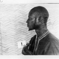 L'informateur Ambara Dolo, de profil (1931).