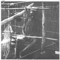 """[Sénégal -  juin 1931]   8 à 11 - Malem Niani - Métier à tisser  cf fiches 99 à 105  - et """"Tissage"""" Cf aussi 178-179"""