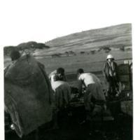 La mission en Abyssinie. Camp de Gondar.
