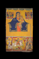 Bannière - Vierge à l'enfant