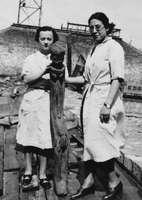 Denise Paulme et Deborah Lifchitz