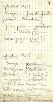 Dakar-Djibouti. Films, enregistrements. Cylinde. XII et XIV  (p 4)